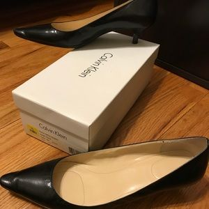 Calvin Klein black heel